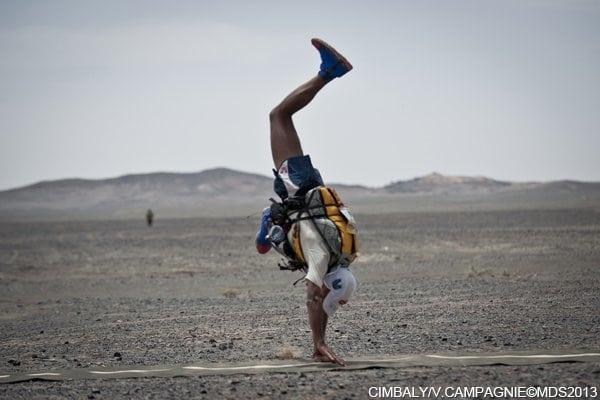2013 Marathon des Sables - Stage 5 - Mohamad Ahansal