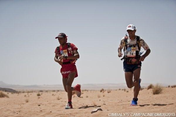 2013 Marathon des Sables - Stage 4 - Salameh Al Aqra - Mohamad Ahansal