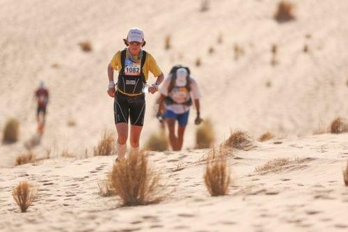 2013 Marathon des Sables - Stage 4 - Meghan Hicks