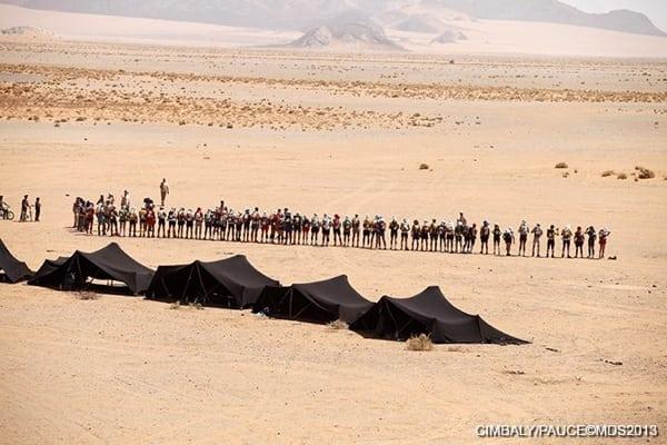 2013 Marathon des Sables - Stage 4 - elite start