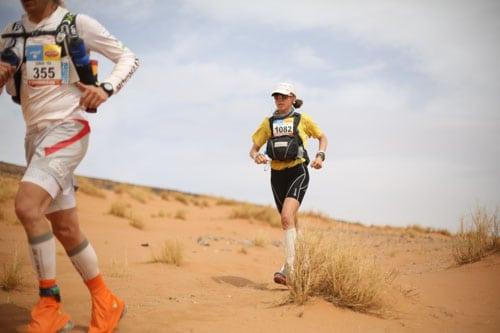 Marathon des Sables - Stage 3 - Meghan Hicks - heat
