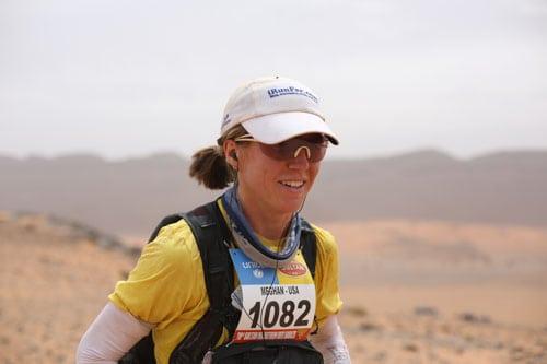 Marathon des Sables - Stage 3 - Meghan Hicks - smiling