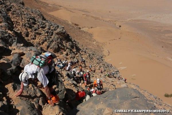 2013 Marathon des Sables - Stage 2 - El Otfal Jebel