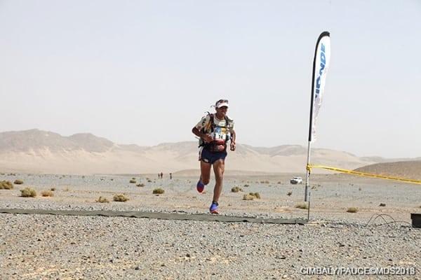 2013 Marathon des Sables - Stage 2 - Mohamad Ahansal