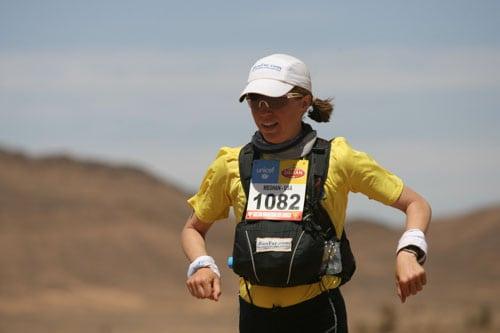 2013 Marathon des Sables - Meghan Hicks - Stage 1