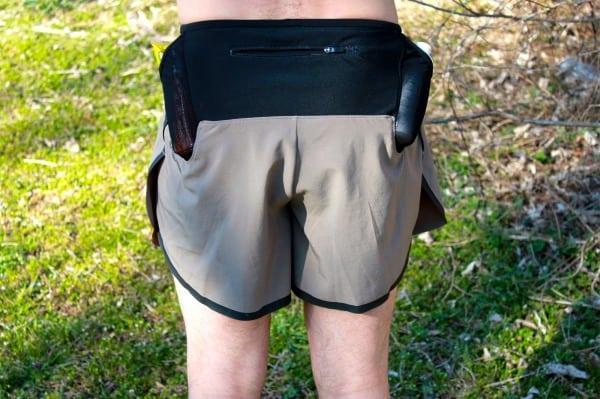 Pearl Izumi Ultra Split Shorts - rear pocket