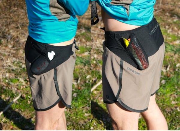 Pearl Izumi Ultra Split Shorts - side views