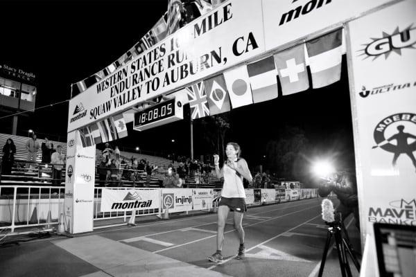 Rory Bosio - 2012 Western States 100 - finishing second