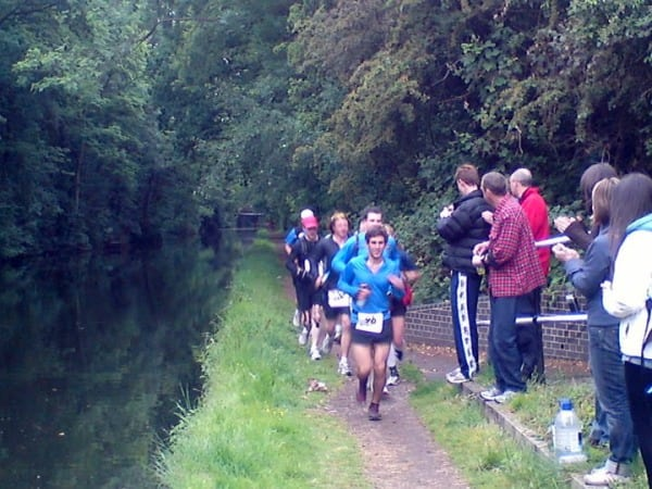 Grand Union Canal Run - runners