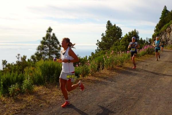 Emelie Forsberg - 2013 Transvulcania Ultramarathon - El Reventon