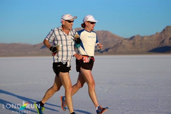 Tune Up Ultramarathon - Bryon Powell 2013 Salt Flats 100