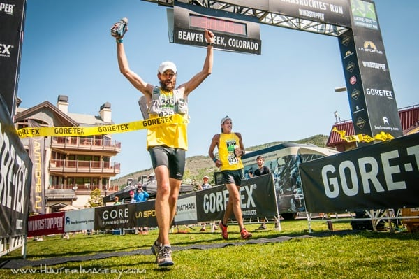 Rob Krar - TransRockies Run win