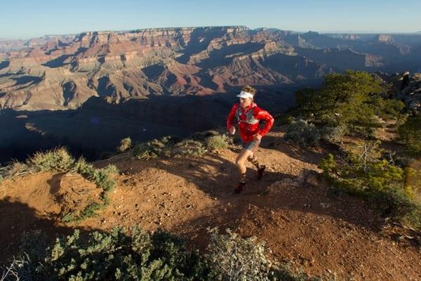 Dakota Jones - running Grand Canyon - March 2012