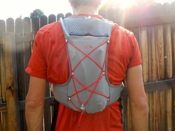 Mountain Hardwear Fluid Race Vest - rear