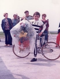Sebastien Chaigneau - 8 year old cyclist