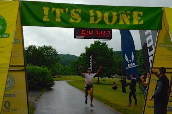 Cayuga Trails 50 Mile - Sage Canaday