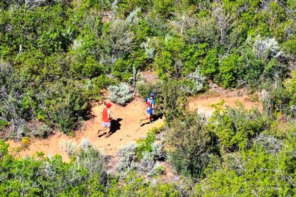 Foote Yates - 2013 Zion Traverse FKT - West Rim Trail