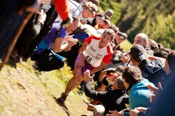 Stevie Kremer - 2013 Zegama Marathon - Climbing
