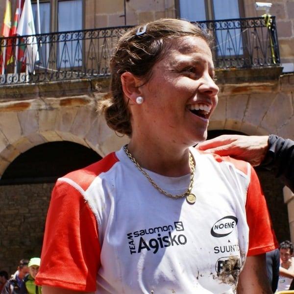 Stevie Kremer - 2013 Zegama Marathon - finish