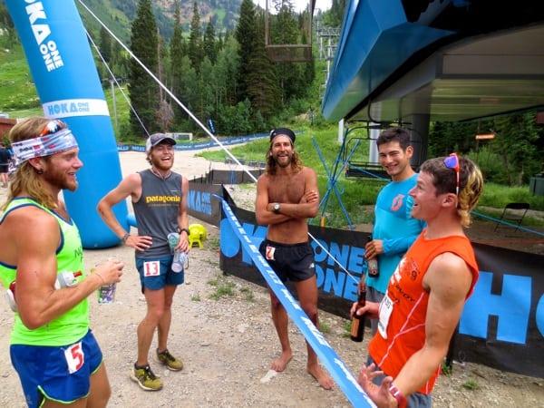 2013 Speedgoat 50k - Timothy Olson - Luke Nelson - Anton Krupicka - Sage Canaday - Max King