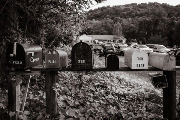 2013 Vermont 100 - mailboxes