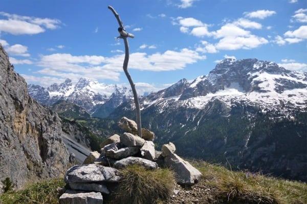 View from Alta Via 3 on Picco di Vallandro Durrenstein