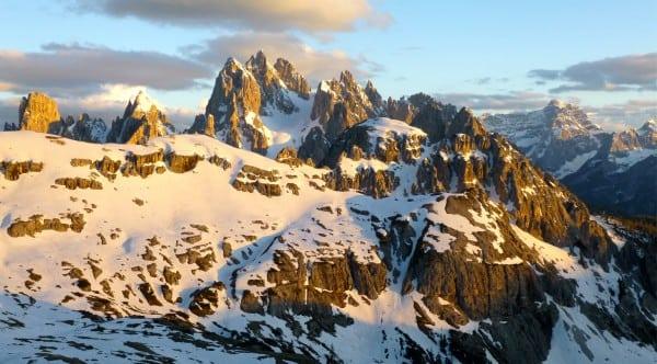 View from Refugio Auronzo