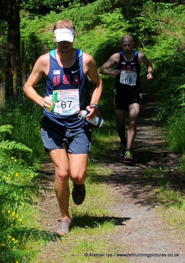 2013 IAU Trail World Championships - Ben Nephew - Justin Ricks