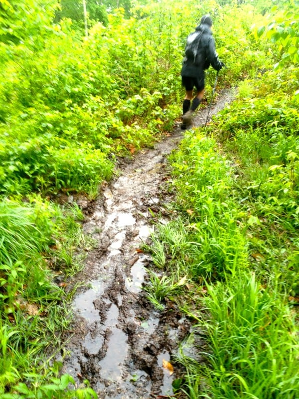 2013 Peak Ultra - mud on course