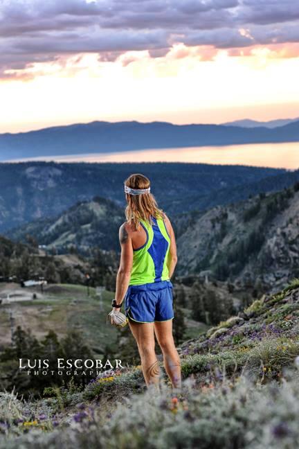 2013 Western States 100 - Timothy Olson - Escarpment