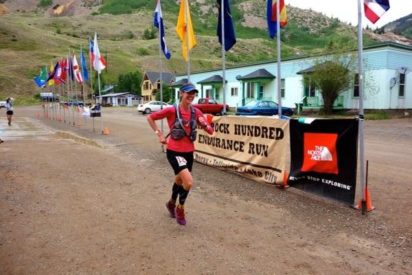 2013 Hardrock 100 - Darla Askew - finish