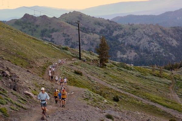 2013 Western States 100 - lower Escarpment