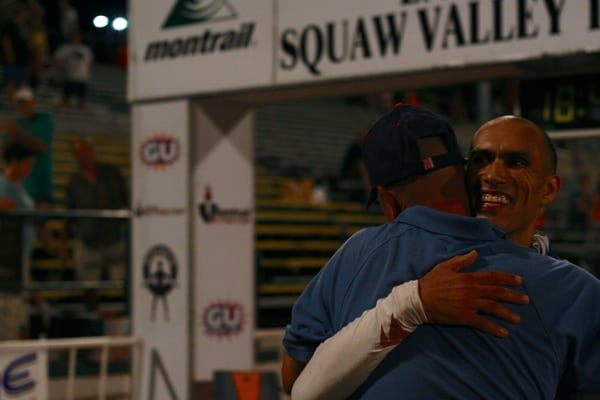 2013 Western States 100 - Yassine Diboun - finish