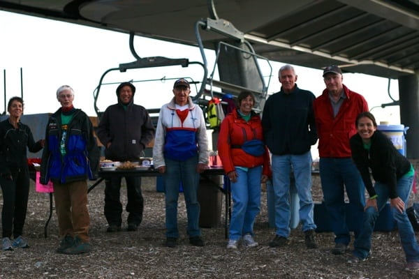 2013 Western States 100 - Escarpment - volunteers