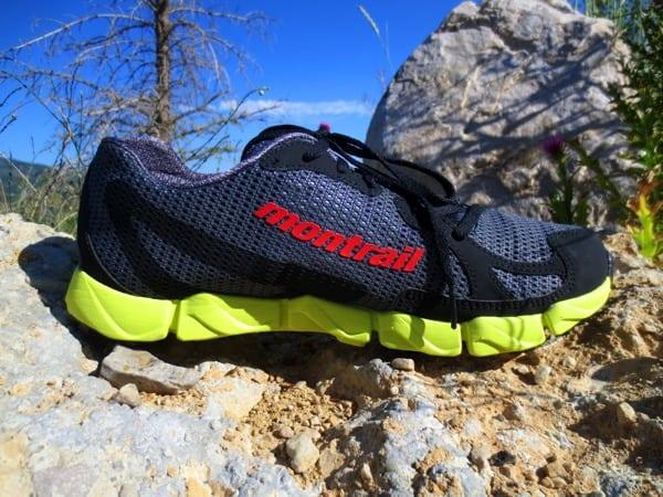 Montrail FluidFlex - medial upper