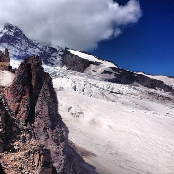 Mount Rainier - Winthrop Glacier
