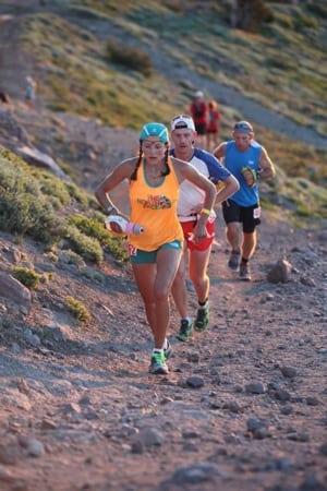 Bryon Powell - Rory Bosio - Escarpment - 2013 Western States 100Joe McCladdie