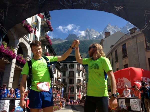 2013 TNF UTMB results - Mike Foote - Timothy Olson