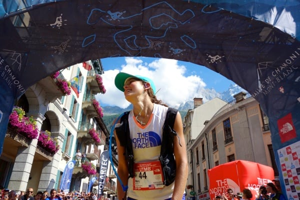 2013 TNF UTMB - Rory Bosio - Finish