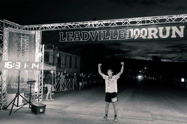 Ian Sharman - 2013 Leadville 100 - win