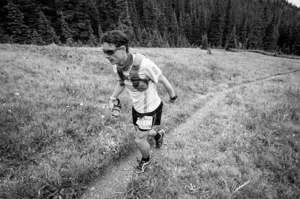 Ian Sharman - Hiking - 2013 Leadville 100