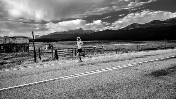 Nick Clark - 2013 Leadville 100 - outbound