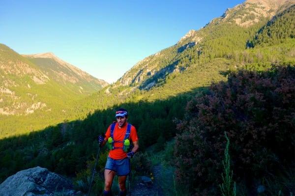 Scott Jaime - 2013 Colorado Trail FKT - climb