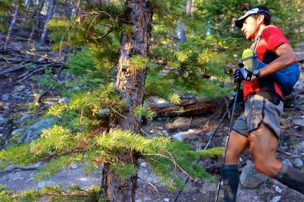 Scott Jaime - 2013 Colorado Trail FKT - Fast Eddy Beer - golden hour