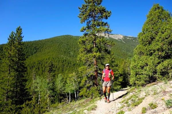 Scott Jaime - 2013 Colorado Trail FKT - forward progress