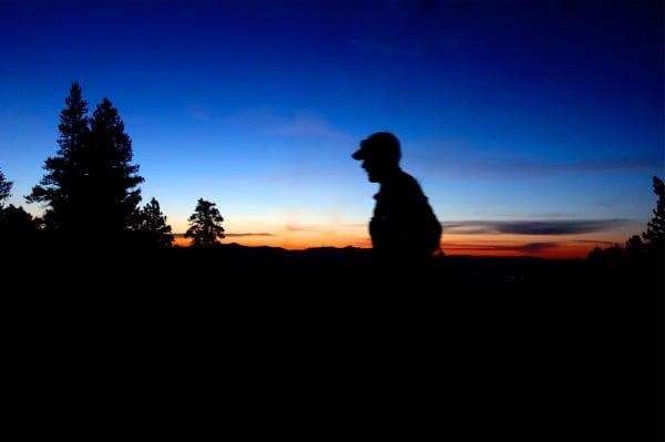 Scott Jaime - 2013 Colorado Trail FKT - Fast Eddy Beer - first light
