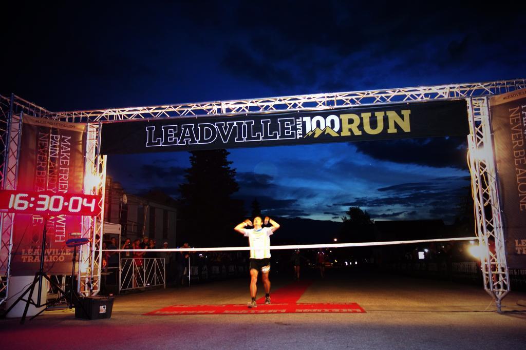 Ian Sharman - 2013 Leadville 100 champion