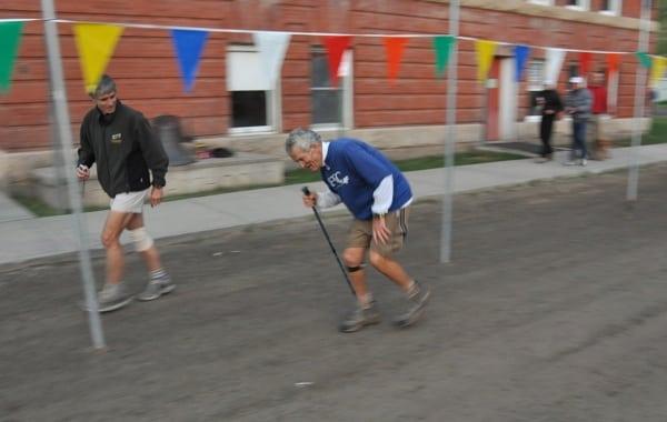 John DeWalt - 2009 Hardrock 100 - finishing