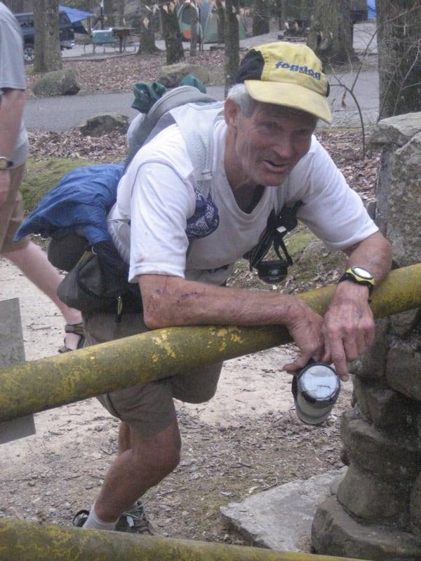 John DeWalt - Barkley Marathon - yellow gate