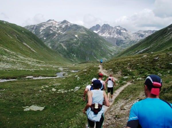 Trail running Davos Switzerland